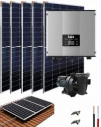 Kit Depuradora Solar con bomba 1cv para piscina