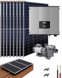 Kit Depuradora Solar con bomba 2cv para piscina