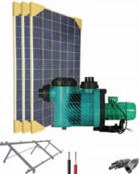 Kit Depuradora Solar  para piscina hasta 70m3