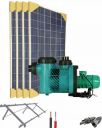 Kit Depuradora Solar  para piscina hasta 90m3