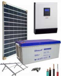 Kit Panel Solar 1000W 12V 1000Whdia