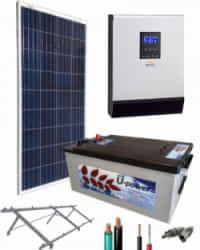 Kit Panel Solar 1000W 12V 750Whdia