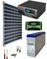 Kit Panel Solar 300W 12V 1000Whdia