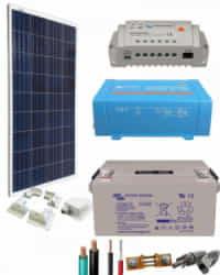 Kit Panel Solar 375W 12V 1000Whdia