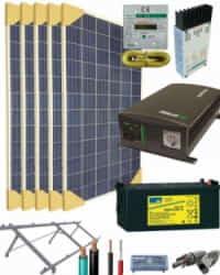 Kit Solar 1400W 12V 3750Whdia