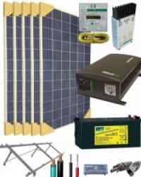 Kit Solar 1400W 12V 5000Whdia