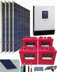 Kit Solar 3000W 24V 5200Whdia