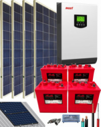 Kit Solar 3000W 24V 5400Whdia