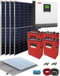 Kit Solar 3000W 24V 6000Whdia