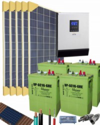 Kit Solar 3000W 24V 7625Whdia