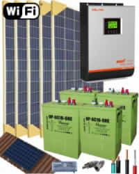 Kit Solar 3000W 24V 8000Whdia