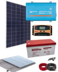 Kit Solar 800W 12V 1000Whdia