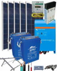 Kit Solar AGM 2000W 12V 4500Whdia
