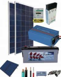 Kit Solar AGM 800W 12V 1500Whdia