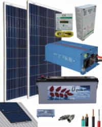 Kit Solar AGM 800W 12V 2000Whdia
