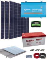 Kit Solar AGM 800W 12V 3000Whdia