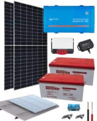 Kit Solar Aislada 1200W 24V 4800Whdia