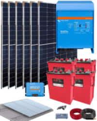 Kit Solar Aislada 3000W 24V 6700Whdia