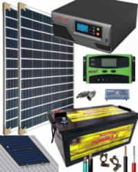 Kit Solar Aislada 700W 12V 2000Whdia