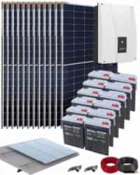 Kit Solar Autoconsumo Baterías 3000W 72V 20000Whdia