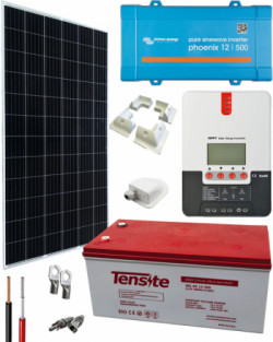 Kit Solar Camper 500W 12V 2000Whdia