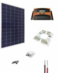 Kit Solar Caravana 12V 1000Whdia  con Estructura