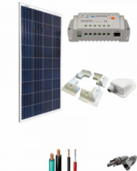 Kit Solar Caravana 12V 750Whdia  con Estructura