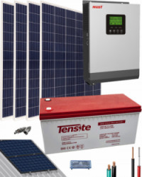 Kit Solar Casa Campo 1000W 12V 4000Whdia