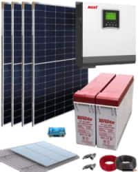 Kit Solar Casa Campo 3000W 24V 6400Whdia