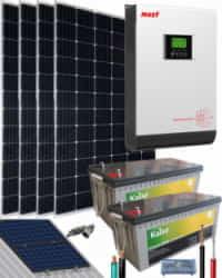 Kit Solar Casa Campo 3000W 24V 7400Whdia
