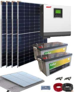 Kit Solar Casa Campo 3000W 24V 8000Whdia