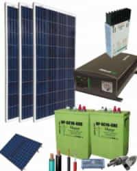 Kit Solar Completo 1400W 12V 2250Whdia