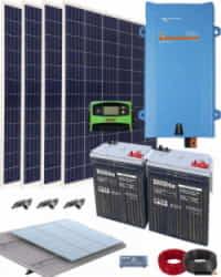 Kit Solar Completo 1600VA 12V 3000Whdia