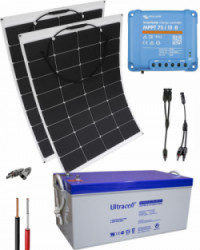 Kit Solar Flexible 12V 1000Whdia
