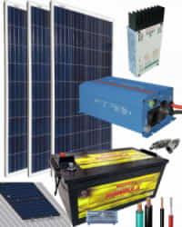 Kit Solar Fotovoltaico 1000W 12V 2250Whdia