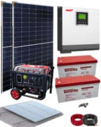 Kit Solar Fotovoltaico 3000W 24V 3200Whdia