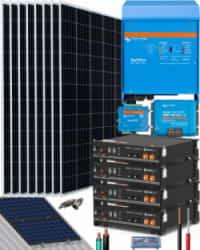 Kit Solar Fotovoltaico 5000W 24V 19200Whdia