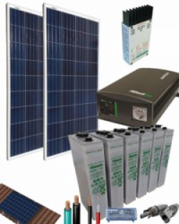 Kit Solar Fotovoltaico 700W 12V 1500Whdia