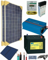 Kit Solar Fotovoltaico 800W 12V 1500Whdia