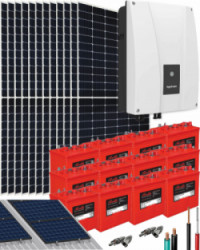 Kit Solar Fotovoltaico Residencial 6000W 150V 32000Whdia
