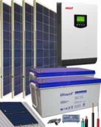 Kit Solar Gel 3000W 24V 5400Whdia