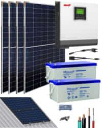 Kit Solar Gel 3000W 24V 6000Whdia