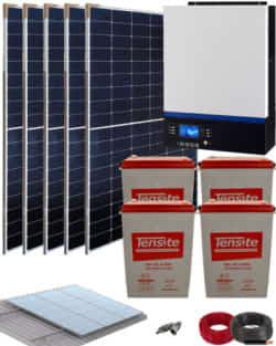 Kit Solar Gel 3000W 24V 9000Whdia