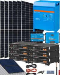 Kit Solar Instalacion Aislada 5000W 24V 11200Whdia
