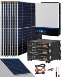 Kit Solar Litio 24V Pylontech 8,4kWh 3000W