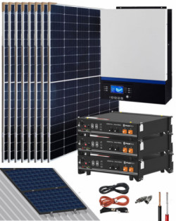 Kit Solar Litio 24V Pylontech 8,4kWh 3000W