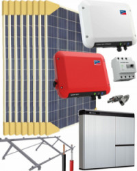 Kit Solar Litio 2500W 12800Whdia SMA - LG