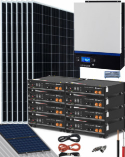Kit Solar Litio Pylontech 18kWh 5000W 14000Whdia