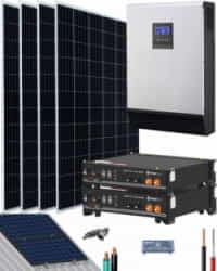 Kit Solar Litio Pylontech 4,8kWh 3000W 7400Whdia