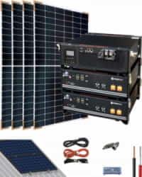 Kit Solar Litio Pylontech 5,6kWh 3000W 7500Whdia